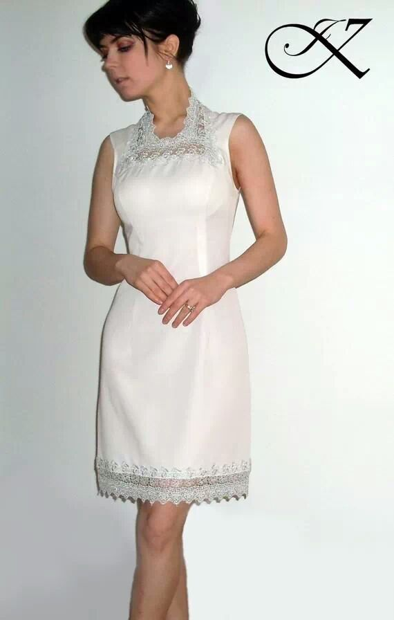 Jennifer Kaya fashion design: white dress