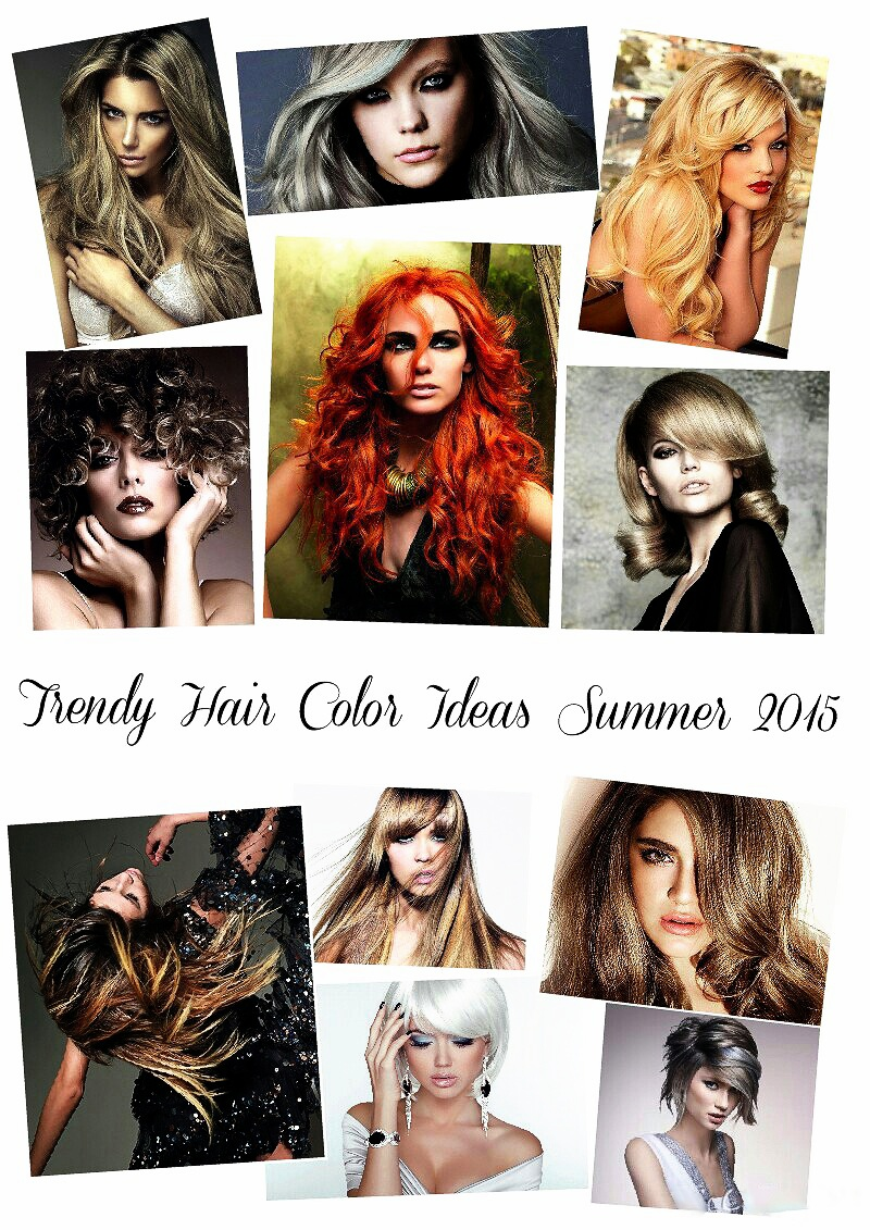 trendy hair color ideas summer 2015 affordable online fashion