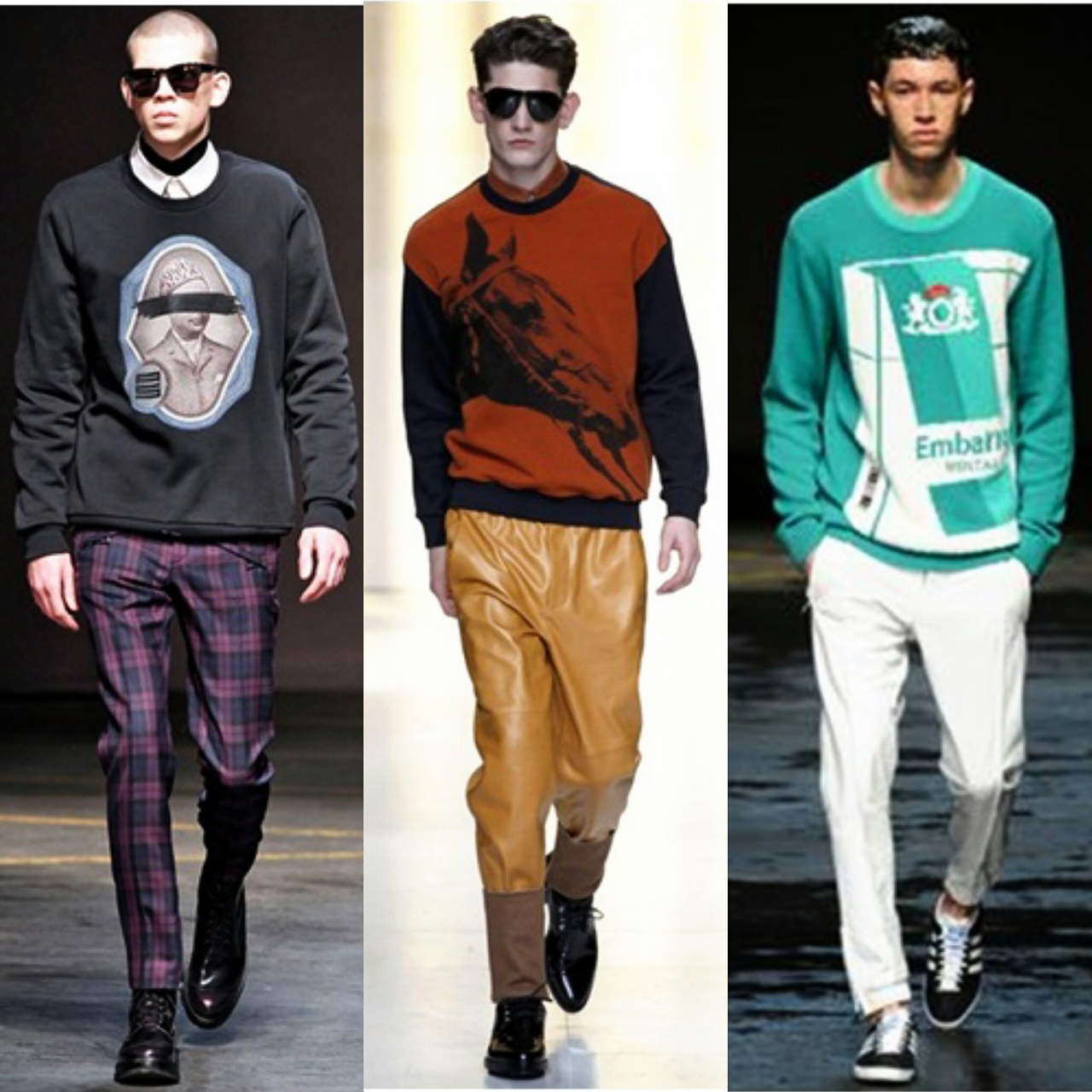 Men's winter fashion tips: how to wear knitted cardigan or a sweater