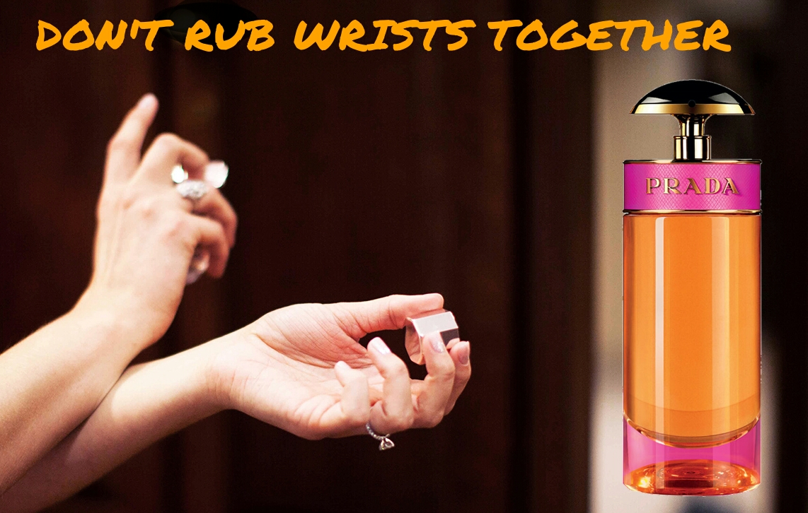 How to make perfume Parfum last long all day don't rub your wrist