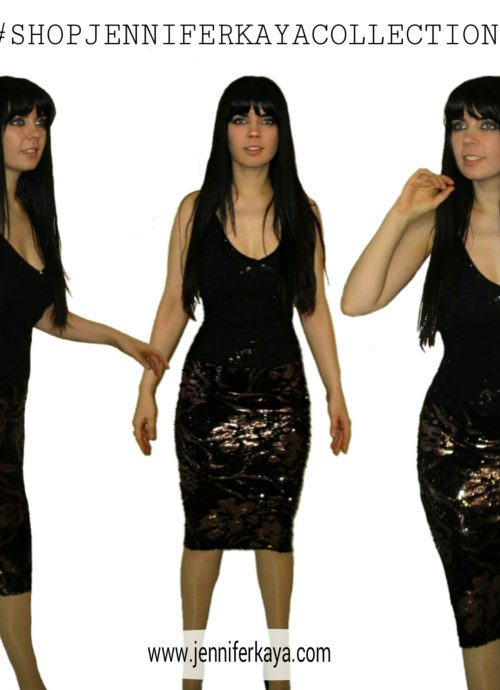 SEQUIN SKIRT jennifer kaya online clothing fashion boutique