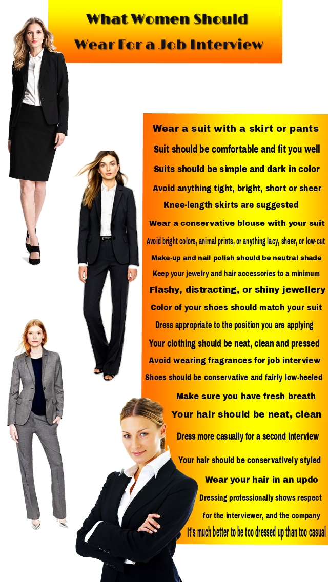 how to dress for a job interview female