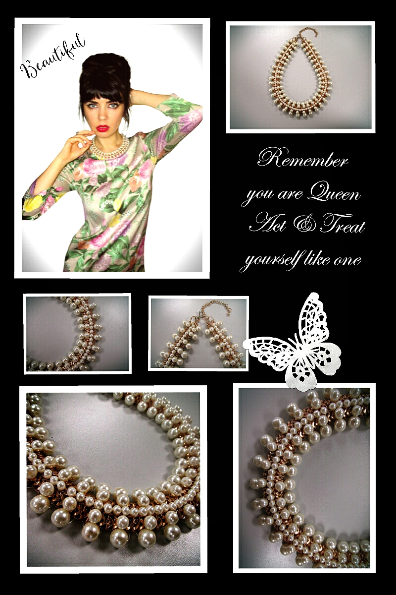 Pearl Necklace l Queen Style Accessory